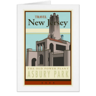 Travel New Jersey Greeting Card
