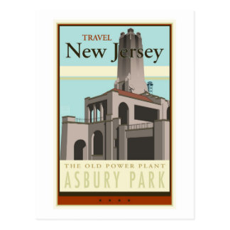 Travel New Jersey Post Cards