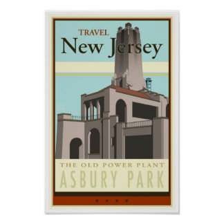 Travel New Jersey Poster