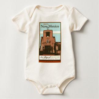 Travel New Mexico Baby Bodysuit