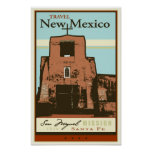 Travel New Mexico Poster