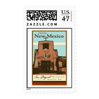 Travel New Mexico Stamp