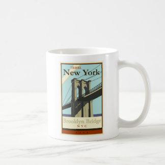 Travel New York Classic White Coffee Mug