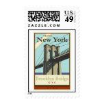 Travel New York Postage Stamp