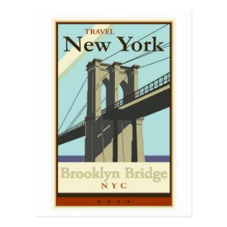 Travel New York Postcard