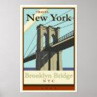 Travel New York Poster