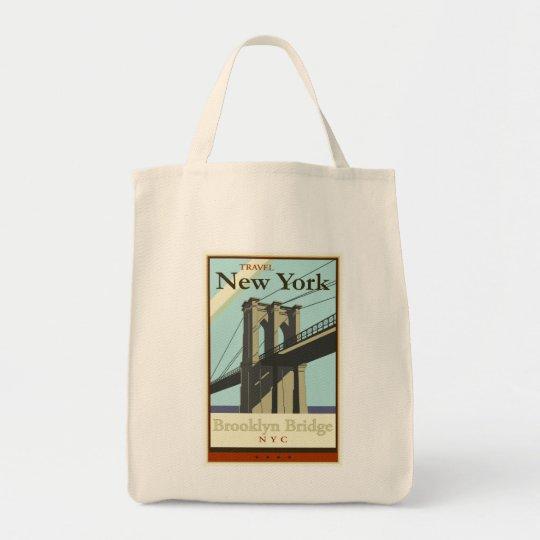 Travel New York Tote Bag
