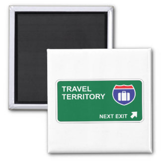 Travel Next Exit Magnets