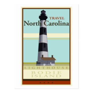Travel North Carolina Postcard