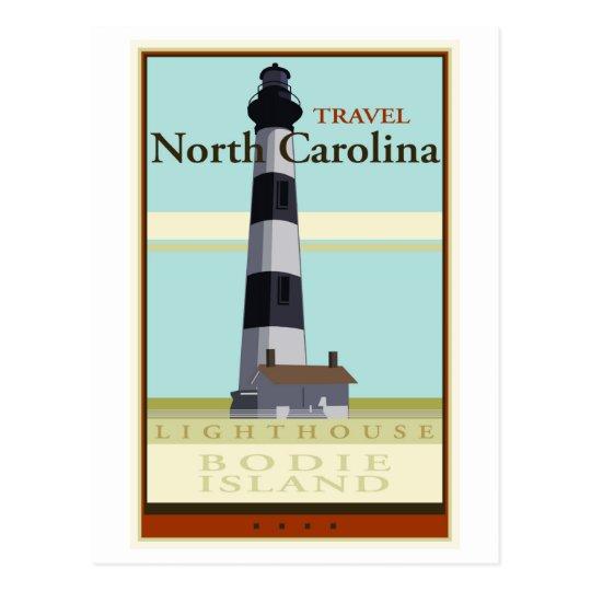 Travel North Carolina Postcard