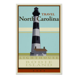 Travel North Carolina Poster