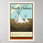 Travel North Dakota Poster