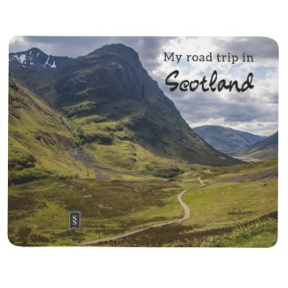 Travel Notebook for your Scotland Road Trip