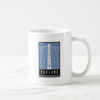 Travel Oakland Classic White Coffee Mug