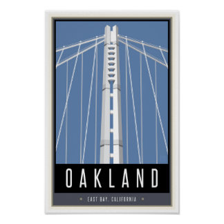 Travel Oakland Poster
