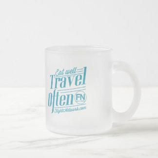 Travel Often Frosted Mug