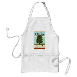 Travel Ohio Adult Apron