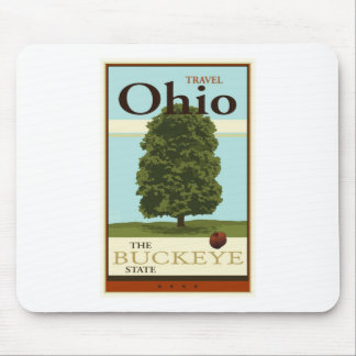 Travel Ohio Mouse Pad
