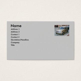 Travel or Car Profile Card