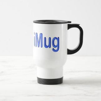 Travel or Commuter iMug 15 Oz Stainless Steel Travel Mug