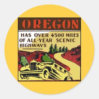 Travel Oregon Scenic Highways Stickers
