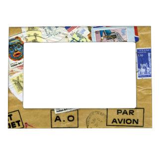 Travel Par Avion Magnetic Picture Frame