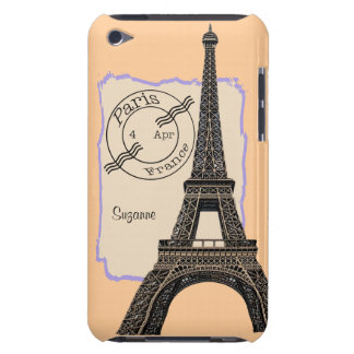 Travel Paris France iPod Touch Cover