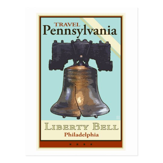 Travel Pennsylvania Postcard