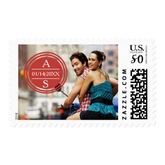 Travel Photo Save the Date Postage