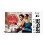 Travel Photo Save the Date Stamp
