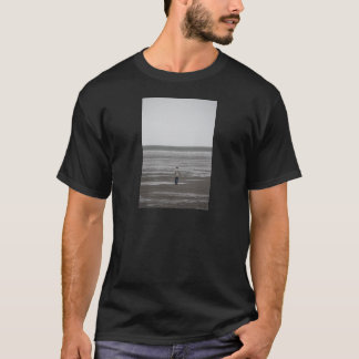 Travel Photograph of man walking in the Wad T-Shirt