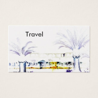 Travel Photography Architecture Business Card