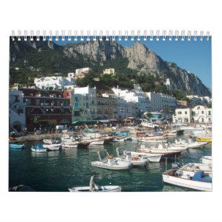 Travel Photos on a Calendar