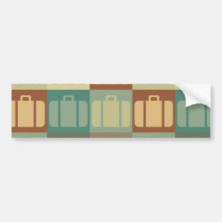 Travel Pop Art Bumper Sticker