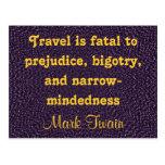 travel postcard