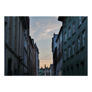 Travel Poster: Krakow Old Town Poster