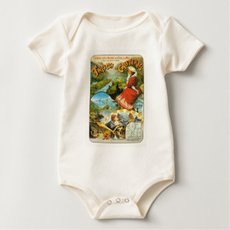 Travel poster Thermes de Cauterets Baby Bodysuit