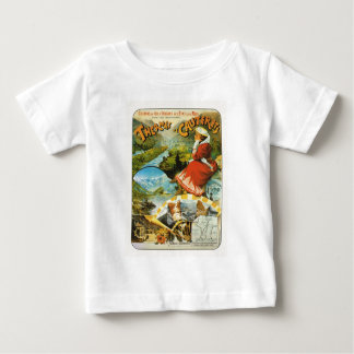 Travel poster Thermes de Cauterets Baby T-Shirt
