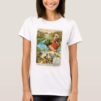 Travel poster Thermes de Cauterets T-Shirt