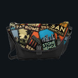 "Travel posters retro vintage europe asia usa messenger bag<br><div class=""desc""></div>"