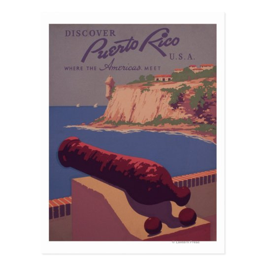 Travel Promotional Poster 2 Postcard