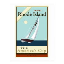 Travel Rhode Island Postcard