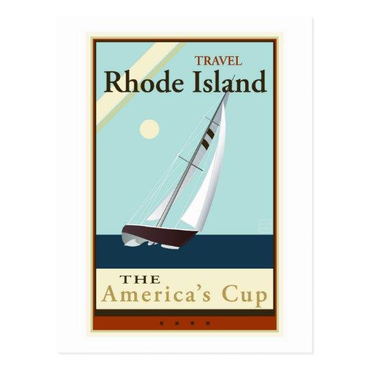Travel Rhode Island Postcard