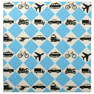 Travel Ride Napkin