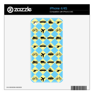 Travel Ride Skin For iPhone 4S