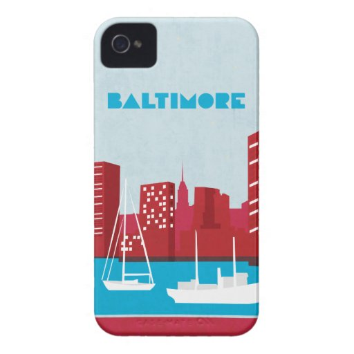 Travel Series Baltimore iPhone4/4s Case
