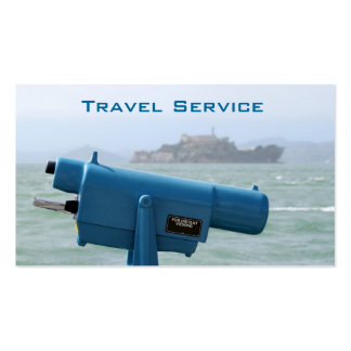 Travel Service Business Cards