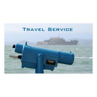 Travel Service Tarjetas De Visita