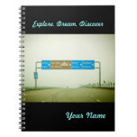 Travel Sign Note Books