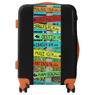 Travel Sign Tropical Ugobag Carry on Luggage